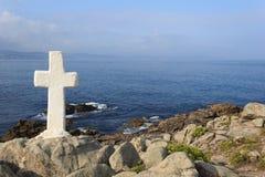 Cabo Roncudo - Costa da Morte Immagini Stock