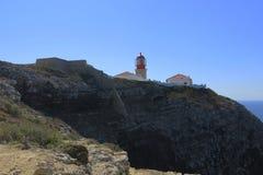 Cabo Saint Vincent Imagens de Stock Royalty Free