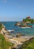 Cabo San Juan, parque nacional de Tayrona, Colombia foto de archivo libre de regalías