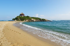Cabo San Juan, stationnement national de Tayrona, Colombie Image stock