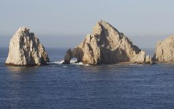 Cabo San Lucas. Rock formations in famous Mexican resort town Cabo San Lucas royalty free stock photo