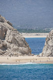 Cabo San Lucas beach Royalty Free Stock Photography