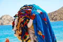 Cabo San Lucas Boat in Oceaan Royalty-vrije Stock Afbeelding