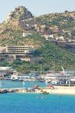 Cabo San Lucas, México, en un día asoleado Foto de archivo libre de regalías