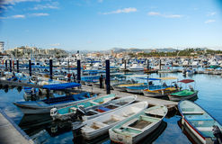 Cabo San Lucas Marina Royalty Free Stock Photo