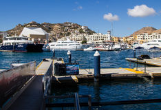 Cabo San Lucas Marina Royalty Free Stock Photography