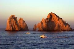 Cabo San Lucas, Mexico. Famous Cabo San Lucas rocks & arch Royalty Free Stock Image