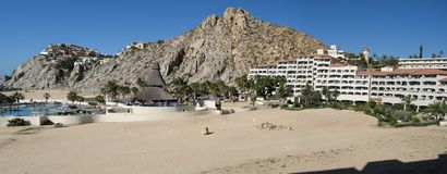 Cabo san lucas, mexico. This is where i stayed on my last trip to cabo san lucas, mexico.  this is such a pretty area Royalty Free Stock Photography