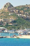 Cabo San Lucas, Mexico, på en solig dag Royaltyfri Foto
