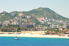 Cabo San Lucas, Mexico, on a sunny day III Royalty Free Stock Image