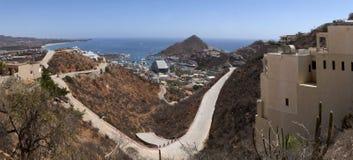 Cabo San Lucas (panorámico) Foto de archivo libre de regalías