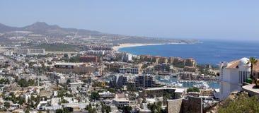 Cabo San Lucas (panorámico) Imagenes de archivo