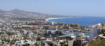 Cabo San Lucas (panoramic) stock images