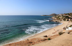 Cabo San Lucas plaże obrazy stock