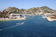 Cabo San Lucas Port Royalty Free Stock Image