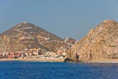 Cabo San Lucas resort scenic Royalty Free Stock Images