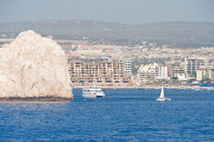 Cabo San Lucas resort scenic Royalty Free Stock Photography