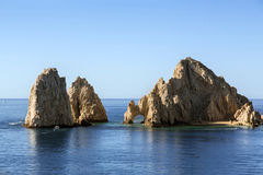 Cabo San Lucas. Rock formations, Cabo San Lucas Mexico Stock Images