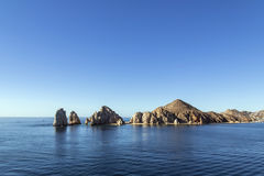 Cabo San Lucas. Rock formations, Cabo San Lucas Mexico Royalty Free Stock Images