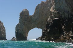 Cabo San Lucas. View the Arch in Cabo San Lucas Stock Images