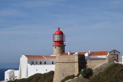 Cabo San Vicente Portugal imagem de stock