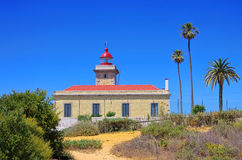 Cabo Sardao lighthouse Stock Photography