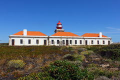 Cabo Sardao lighthouse, Alentejo, Portugal Royalty Free Stock Images