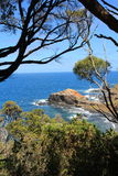 Cabo Schanck sob o céu azul, VIC, Austrália Imagens de Stock Royalty Free