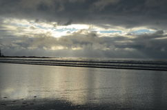 Cabo Scott Sunset Imagen de archivo