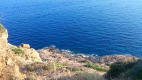 Cabo Sounion Foto de Stock Royalty Free