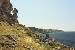 Cabo Tarkhankut Imágenes de archivo libres de regalías
