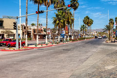 Cabo van de binnenstad San Lucas Stock Foto's