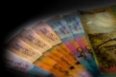 Cabo Verde 5000, 2000, 1000, billetes de banco de 500 escudos imágenes de archivo libres de regalías