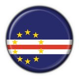 Cabo Verde button flag round shape Stock Photo