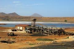 Cabo Verde - Salz - Salinen Stockfotos
