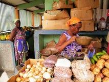 Cabo Vert - mercado Imagem de Stock Royalty Free