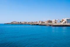 Cabo y mar Mediterráneo, isla de la coma del Sa de Majorca Imagenes de archivo