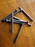 Caboche sur un fond en bois brun Image stock