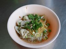 caboche thaïlandaise de porc de style Photo libre de droits