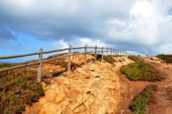 Caboen da Roca, Portugal Arkivbild