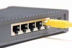 Cabografe o router Foto de Stock