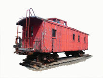 Caboose Stock Photo