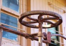 Caboose Brake Wheel 2 Royalty Free Stock Images