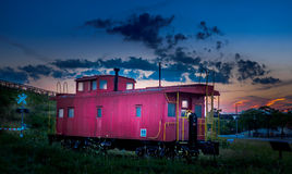 Free Caboose Crossing Stock Photography - 98756982