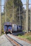 Caboose del coche de tren Fotos de archivo