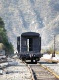 Caboose del tren fotos de archivo