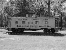 Caboose del tren del vintage Fotografía de archivo libre de regalías