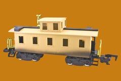 Caboose di modello del treno Immagine Stock Libera da Diritti