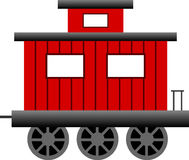 Caboose, Train, Transportation Royalty Free Stock Photos