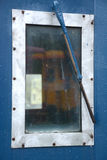 Caboose window Royalty Free Stock Images
